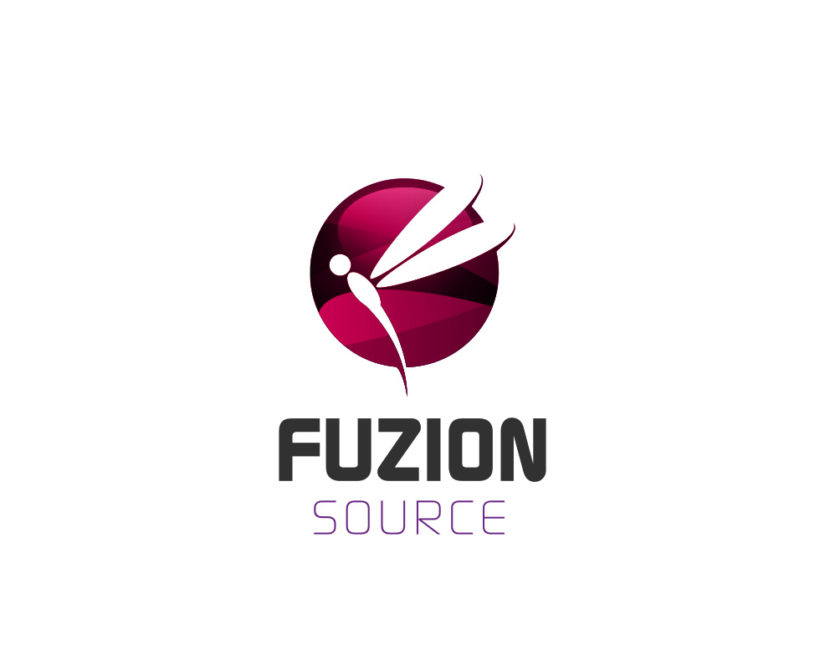 Fuzion Source Dragonfly Free Logo Design Logo Instant