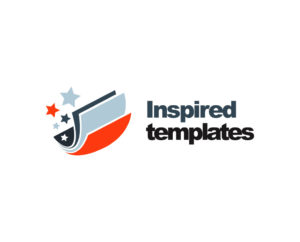 Inspired paper templates free logo PSD