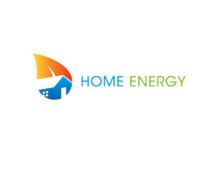 Home green energy logo design download
