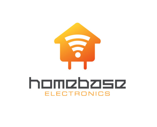 home electronics logo download in psd and vector