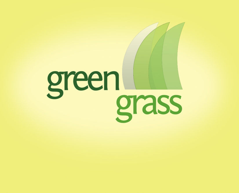 green grass free logo design