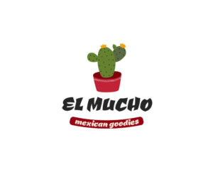 Mexican food free logo design