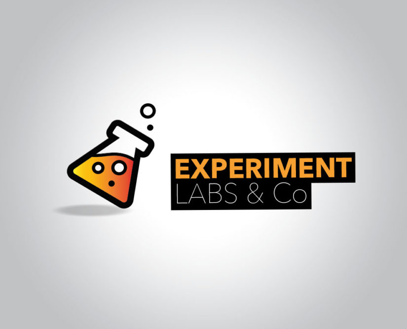 research Labs logo design